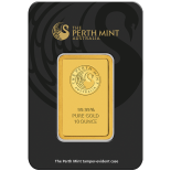 10 Ounce Gold Australian Perth Mint Bar